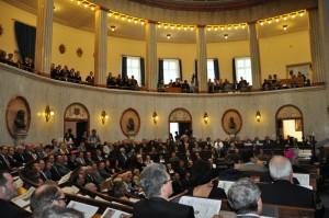 Uroczysta sesja Sejmiku Śląskiego zokazji 90. rocznicy przyłączenia Górnego Śląska doPolski