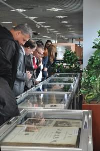 """Otwarcie wystawy """"Epoka napoleońska wdrukach…"""". Biblioteka Śląska"""